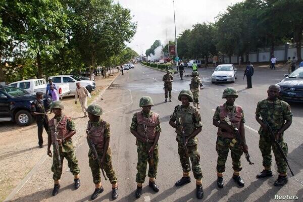Nigerians Soldiers