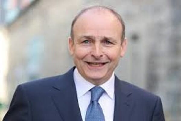 Prime Minister of the Republic of Ireland Micheal Martin