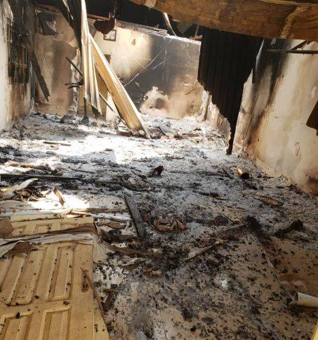 Enogie of Ukhiri's Palace Burnt down
