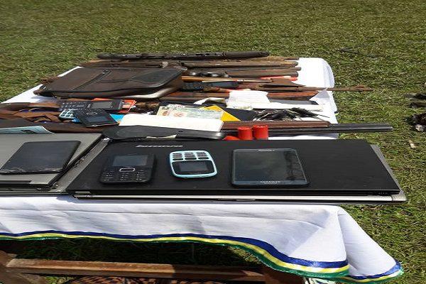 Edo Police Recover guns and ammunition