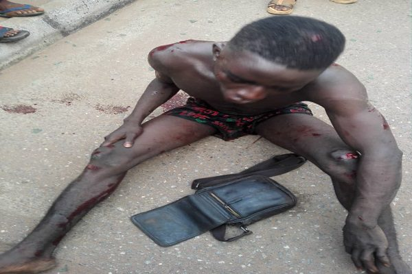The Armed Robbery Suspect Ifeanyi Ani