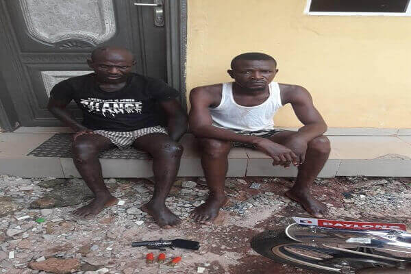 Two Robbery Suspects Disarmed By Female POS Operator In Edo