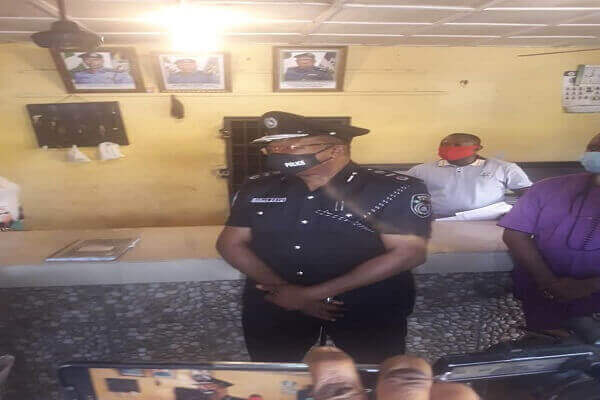 Assistant Inspector General of police in charge of Zone five, Benin city, AIG SHOLA DAVID