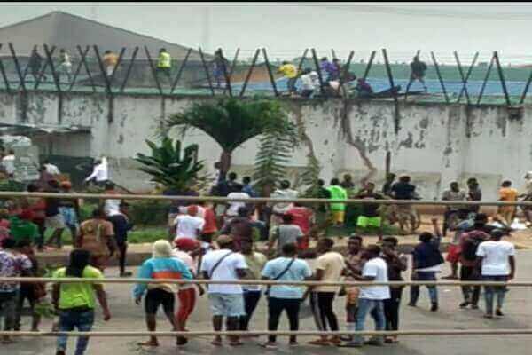 Prisoners Escaping Edo Correctional Service