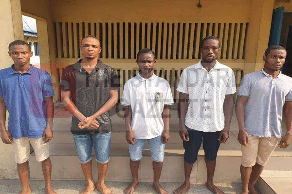 Police Arrest Five Suspects For Multiple Abductions, Car Theft, And Abuse Of Women