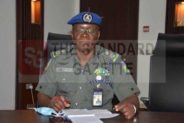 Philip Ogbadu, Commissioner of Police in Edo State