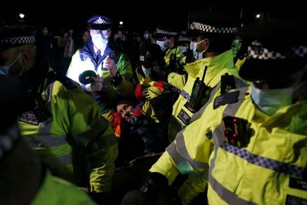 Met Police Say They Arrested Four People In Clapham Commons