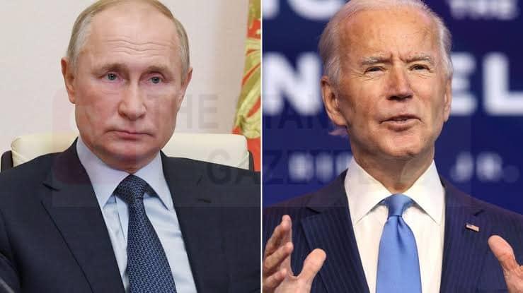 Putin and Joe Biden