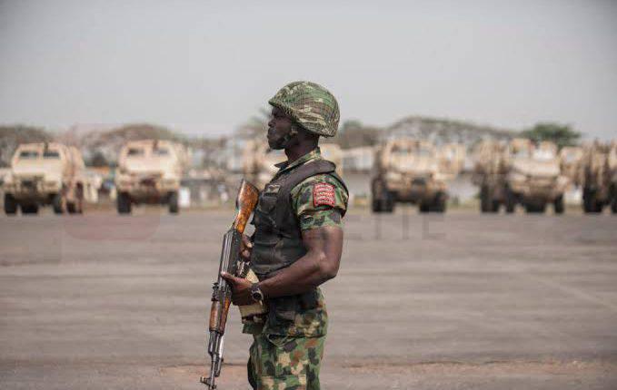 Nigerian Soldier Bello Useni