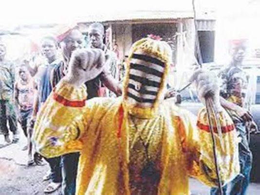 Oloolu Masquerade