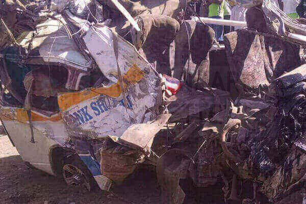 Accident in Kenya
