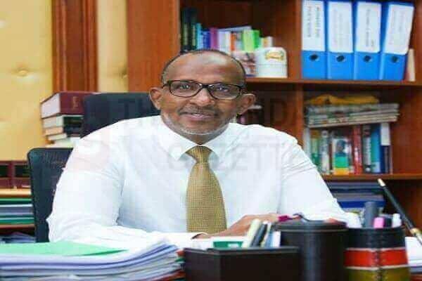 Kenyan Lawmaker Aden Duale