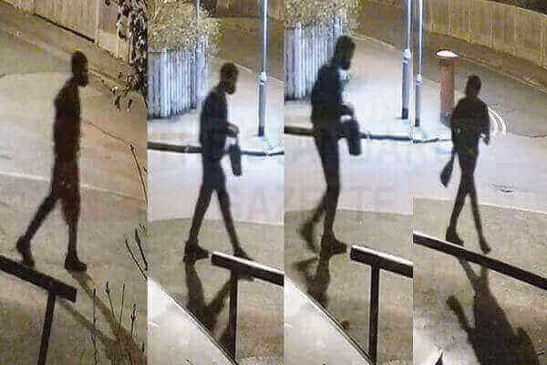 CCTV of Richard Okorogheye