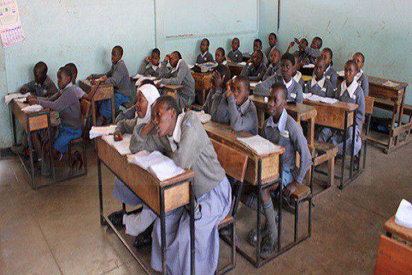 A school in Kenya