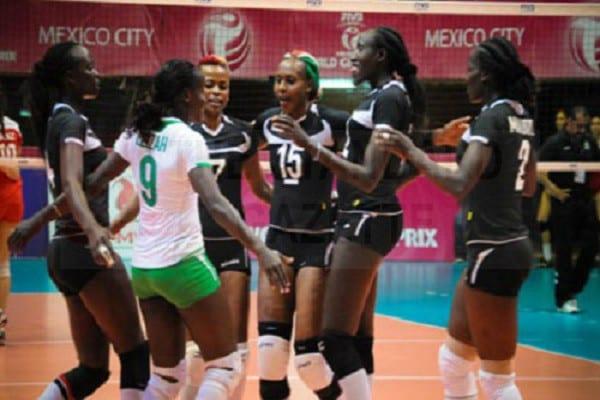 Kenya Women Volleyball
