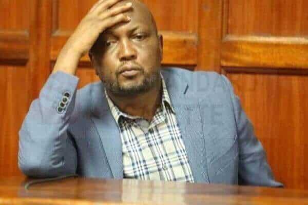 Kenyan MP Moses Kuria