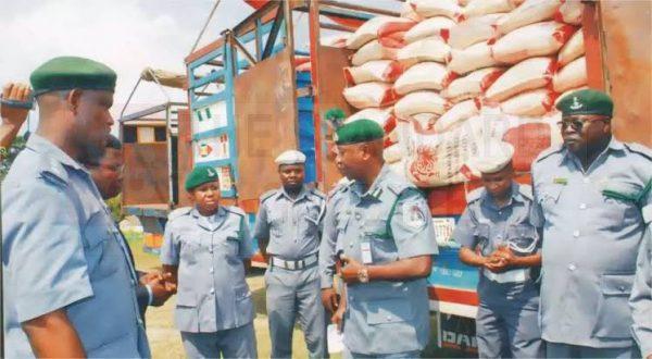 Nigeria Custom Officers