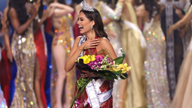 Miss Myanmar 26-year-old Andrea Meza