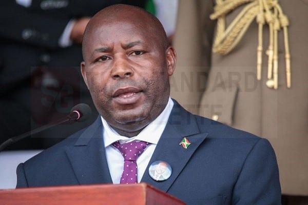 President Evariste Ndayishimiye
