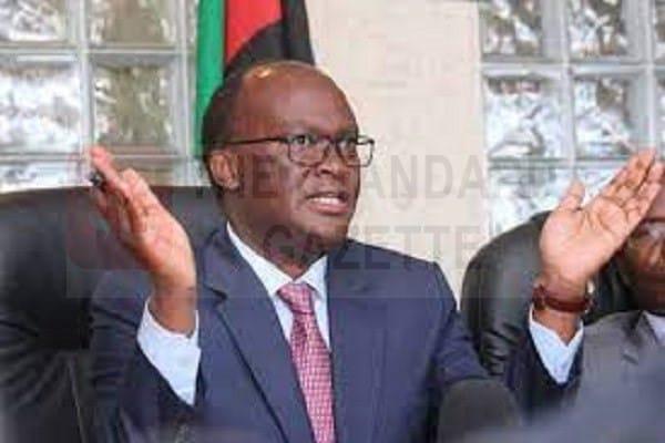 Transport Cabinet Secretary James Macharia