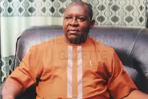 Pastor Dan Osato Osamwonyi Prayer city region 66, Mountain of fire ministry