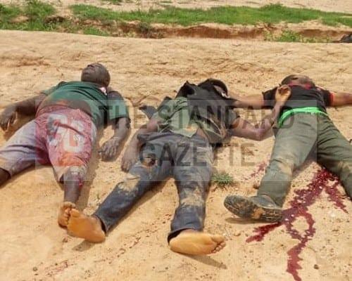 Policemen ambushed and killed by gunmen