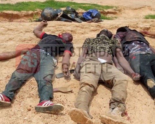 Remains of the officers slaughtered by suspected herdsmen