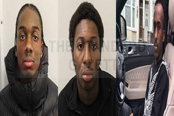 Khallid Hogan, Alex Weekes and Abdullahi Mohamoud