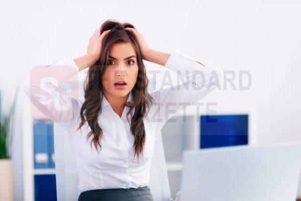Stressed boss