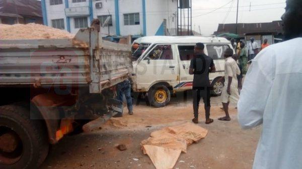 Accident in Benin