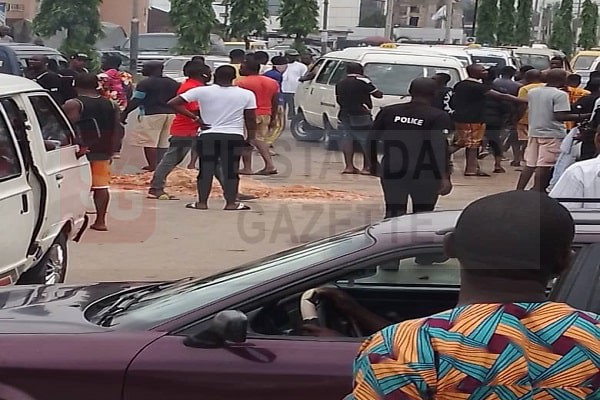 Angry protesters in Benin over deadly accident