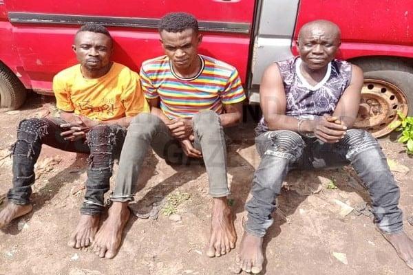 Bright Emumwen, Evans Osariemen and Chukwudi Anyanwu