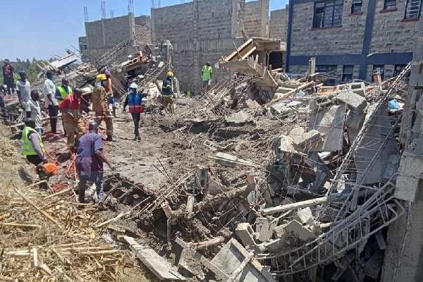 Collapsed Building in Kisumu