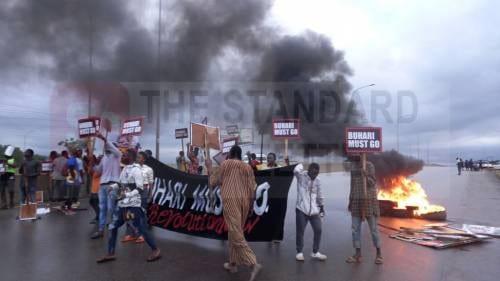 BuhariMustGo Protest