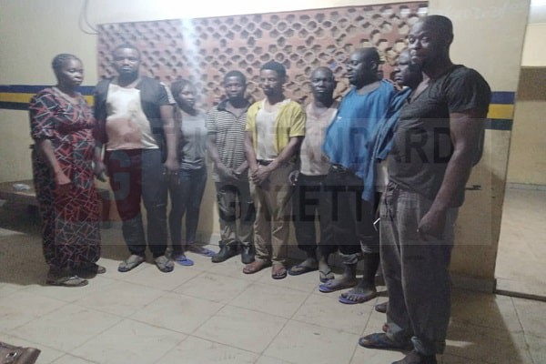 Nine victims rescued by Edo police