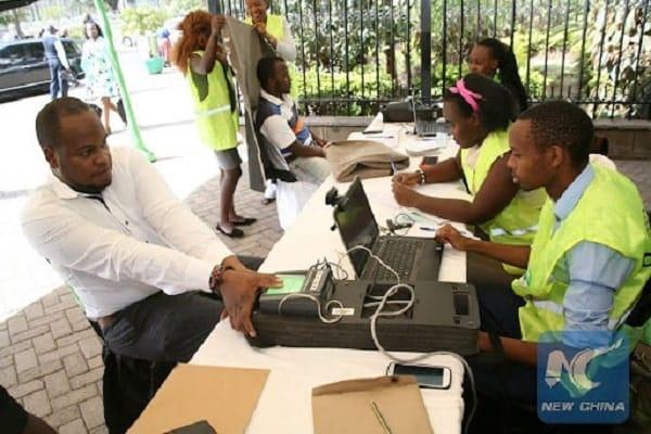 Voters registrations
