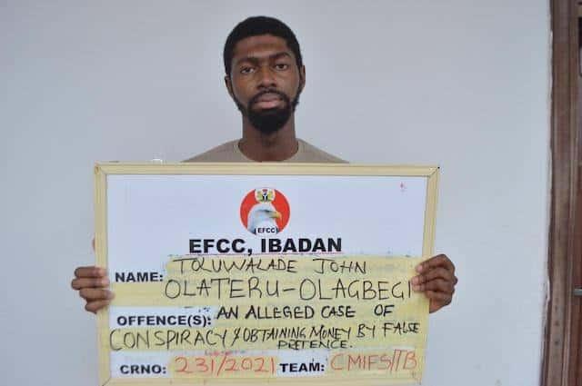 EFCC Arrests Olateru-Olagbegi Toluwalade John